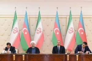 امضای شش سند همکاری میان ایران و آذربایحان