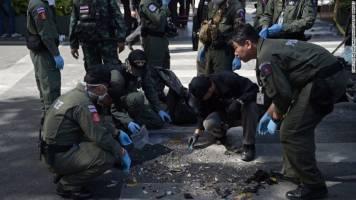 پلیس تایلند گفت رشته حملات به راه افتاده در این کشور بهم مرتبط اند