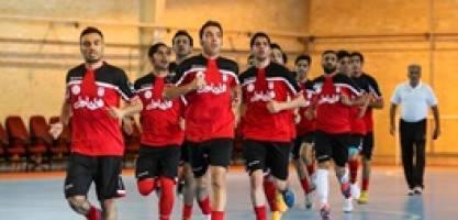 توقف تیم ملی فوتسال مقابل قرقیزستان