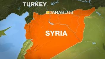 جرابلس تحت کنترل نیروهای نزدیک به ترکیه