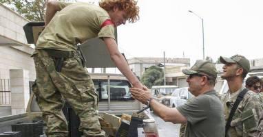 انتشار تصاویر فرمانده ترکیه ای عملیات جرابلس
