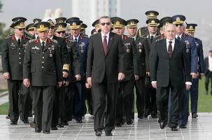 نمایش قدرت اردوغان در ارتش ترکیه با حمله به سوریه
