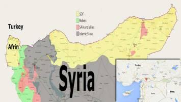 مبارزان کرد سوری از غرب فرات عقبنشینی کنند!