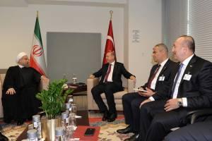 اراده ايران و تركيه براي حل بحران هاي منطقه
