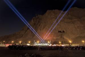 فستیوال شب های موسیقی بارانا در مجموعه تاریخی بیستون