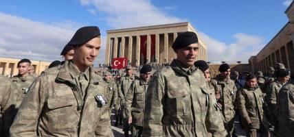 تصاویر ورود نیروهای جدید ارتش ترکیه به داخل خاک سوریه