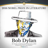 نوبل ادبيات 2016 به « باب دیلن» آمریکایی رسيد