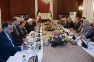 توسعه همه جانبه همکاری های تهران – سارایوو ضروری است