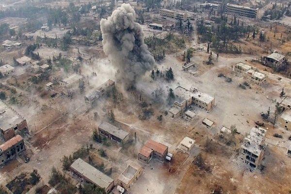 2 کشته و ۳۷ زخمی درحمله شیمیایی به حلب