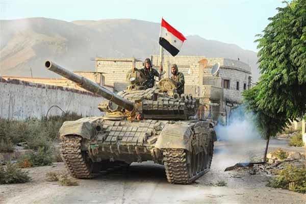 سپاه پنجم ارتش سوریه  تشکیل شد