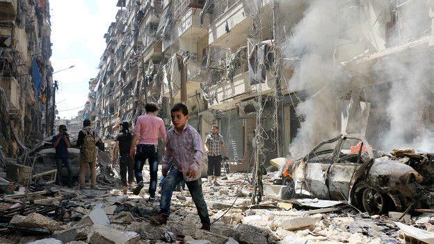 موافقت مخالفان دولت سوریه با ارسال کمک های انسان دوستانه به حلب