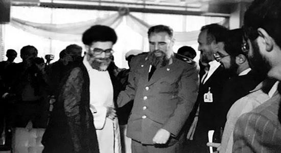 20 تصویر تاریخی از رهبران ایران در کنار فیدل انقلابی!