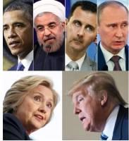 نظر رهبران و سیاستمداران برجسته جهان در مورد ترامپ و کلینتون