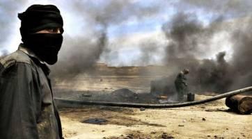 جنگ نفت و گاز در سوریه بر روی نقشه