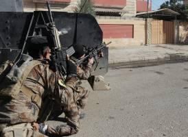 جنگ خیابانی در موصل برای رسیدن به مرکز شهر