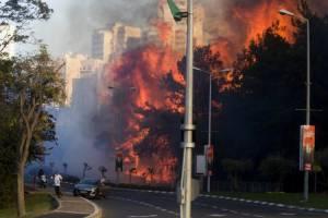 القاعده فلسطین مسئولیت آتشسوزیهای اسرائیل را برعهده گرفت