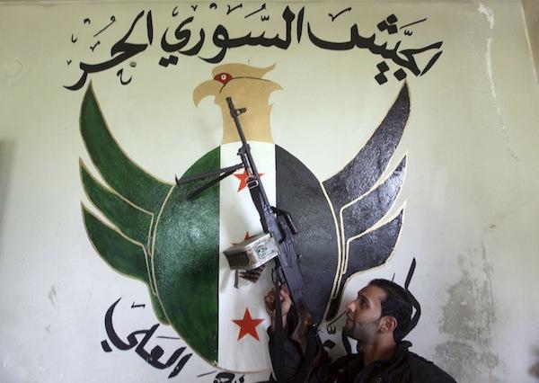 پیشنهاد ارتش آزاد سوریه به تل آویو