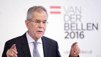 پیروزی فندر بلن در برابر کاندیدای راست افراطی اتریش
