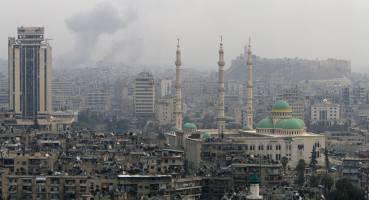 حلب زیر آتش شدید ارتش سوریه