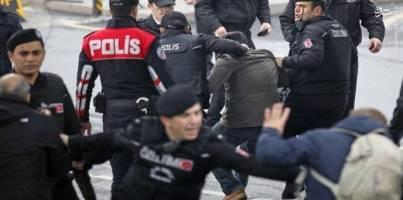 افزایش شمار بازداشت شدگان در ترکیه به 235 نفر