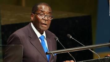 اعلام آمادگی موگابه برای شرکت در انتخابات سال 2018