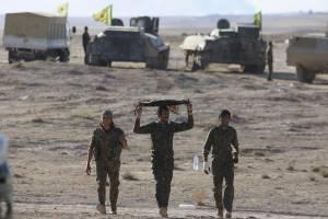 پیشروی گسترده نیروهای دموکراتیک سوریه در غرب «رقه»