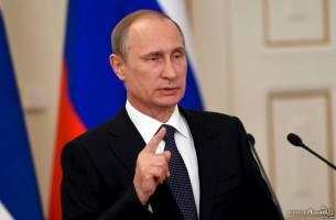 پوتین: آمرین و مسئولان ترور را مجازات میکنیم!