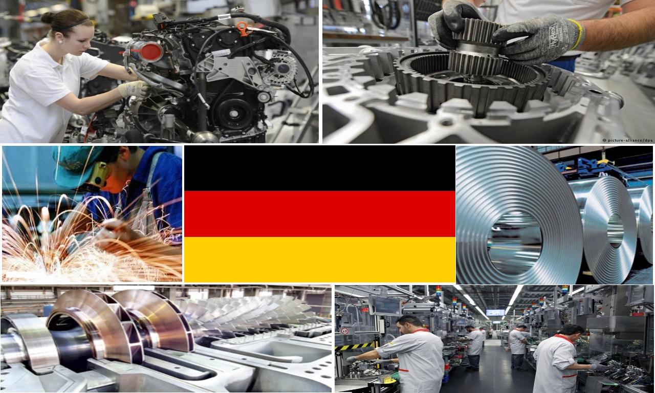 افزایش تولیدات صنعتی در آلمان