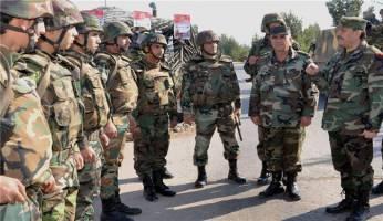 کنترل ارتش سوریه بر مناطقی در حومه حمص