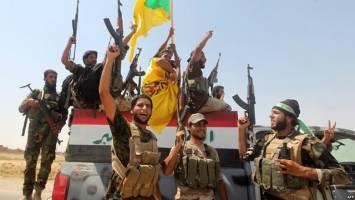 درگیری نیروهای حشد شعبی عراق با پیشمرگ های کرد