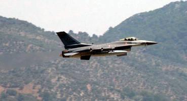 حمله جنگنده های ترکیه به مواضع پ.ک.ک در شمال عراق