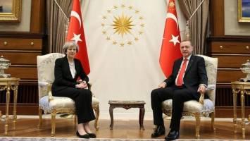 نخست وزیر انگلیس امروز در ترکیه