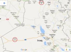 داعش بدنبال تسخیر الرطبه در غرب عراق