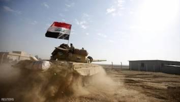 غرب موصل زیر حملات هوایی و توپخانه قرار گرفت