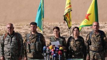 مشارک سه هزار نیروی عرب در کنار کُردها برای آزادسازی رقه
