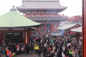 تاثیر فرهنگ دعای ایرانیان بر معبد بزرگ آساکوسای توکیو
