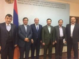تهران - ایروان خواستار توسعه روابط اقتصادی دو جانبه شدند