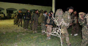 انجام عملیات هلی برد نیروهای امریکایی و کرد در اطراف رقه