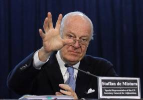 طرح ١٢ ماده اي دي ميستورا برای حل بحران سوریه