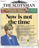 اکنون زمان برگزاری رفراندوم استقلال اسکاتلند نیست