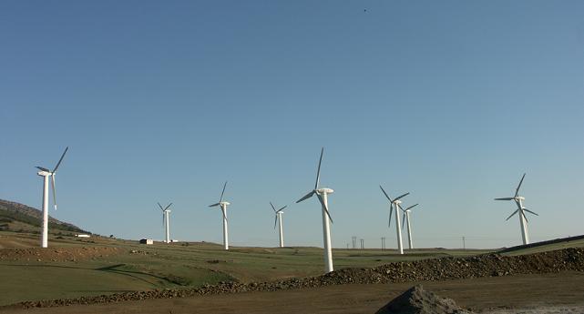 آلمان جزیره توربین بادی می سازد