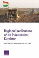 معرفی کتاب: تأثیرات منطقهای استقلال کردستان