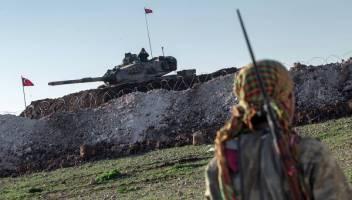 آرایش جدید ارتش ترکیه برای حمله به کردهای سوریه