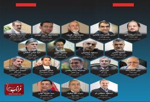 17 وزیر پیشنهادی پیشنهادی روحانی برای دولت دوازدهم