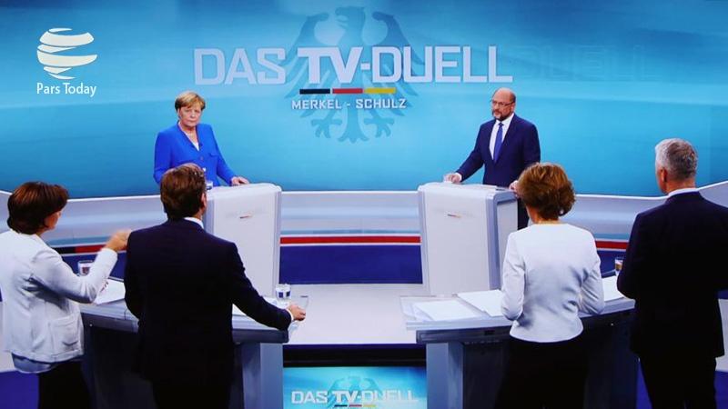 پناهجویان مهمترین موضوع اولین مناظره تلویزیونی انتخابات سراسری آلمان