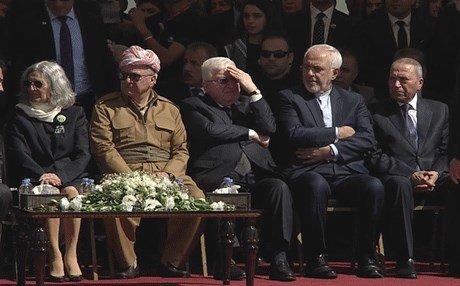 مراسم تشییع پیکر جلال طالبانی؛ رئیس جمهور فقید عراق