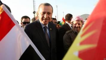 دست ترکیه زیر ساطور بارزانی!