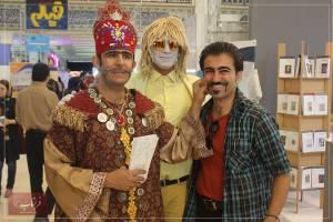 فراتاب در 23مین نمایشگاه مطبوعات - روز چهارم