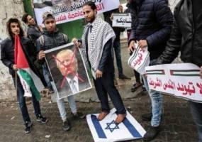 تظاهرات فلسطینیها علیه تصمیم ترامپ درخصوص قدس
