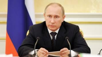 حمایت حزب حاکم روسیه از نامزدی پوتین در انتخابات ریاست جمهوری
